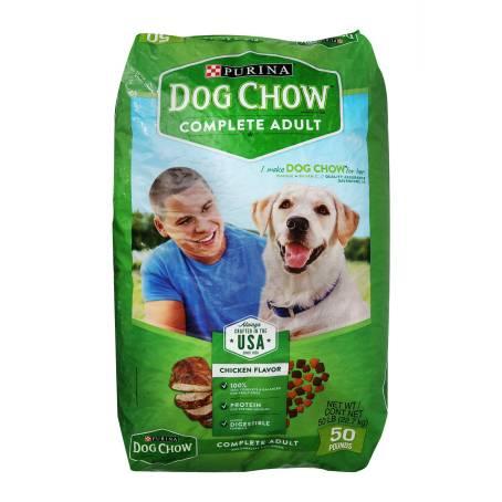 Sam's Club: 22.7KG DOG CHOW CROQUETA SABOR POLLO PARA ADULTO
