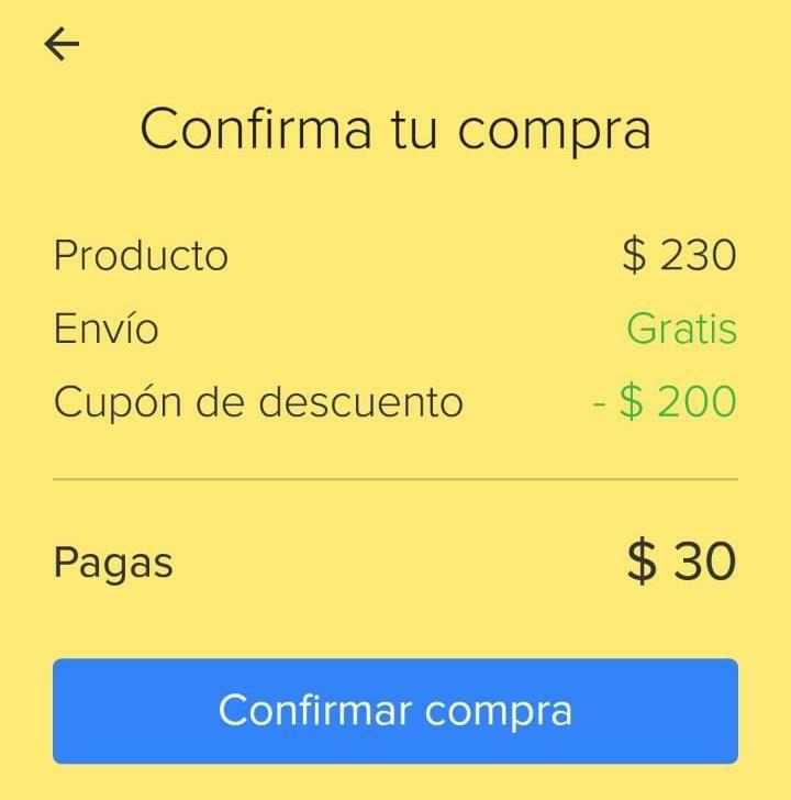 Mercado Libre : Nuevo cupón de -$200 (cuentas nuevas y seleccionadas)