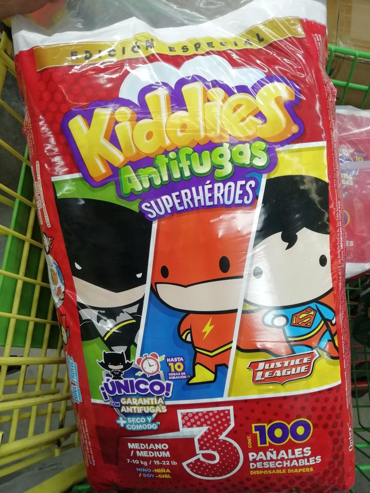 Bodega Aurrera: kiddies etapa 3 con 100pzs