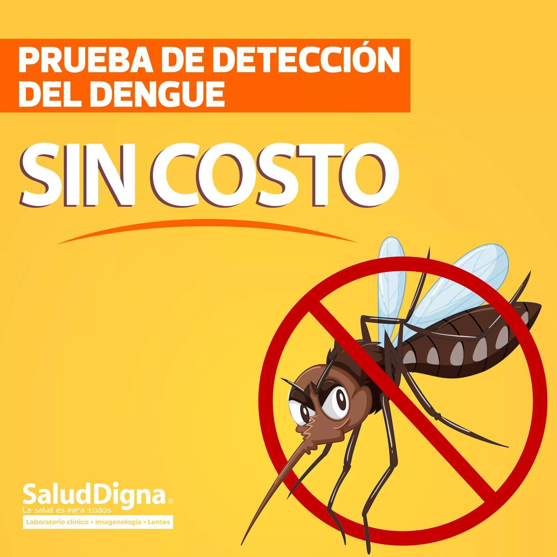 Salud Digna Jalisco: Prueba del dengue gratis