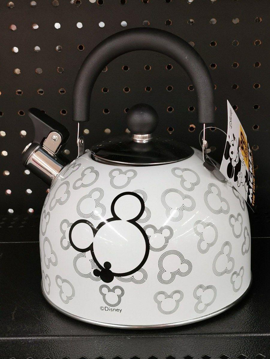 Walmart: Tetera 2.5 lt inoxidable Mickey Mouse y taza de Minnie Mouse