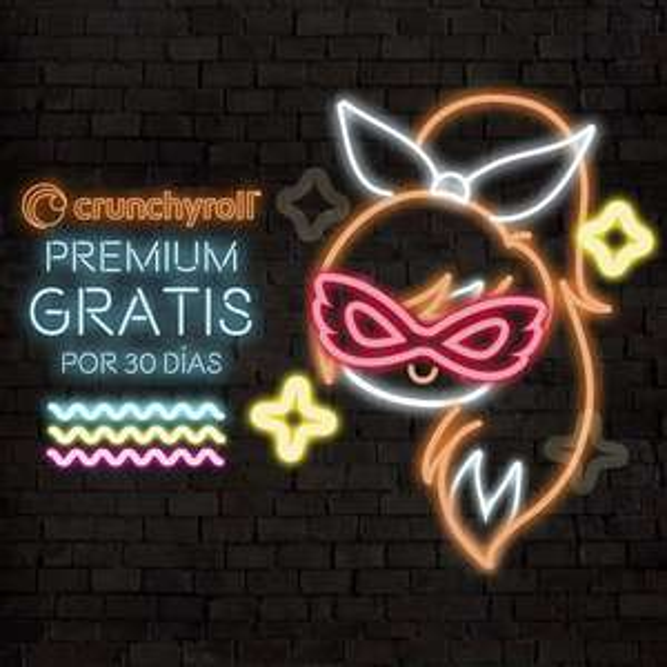 Crunchyroll : 30 dias gratis Premium (usuarios nuevos)