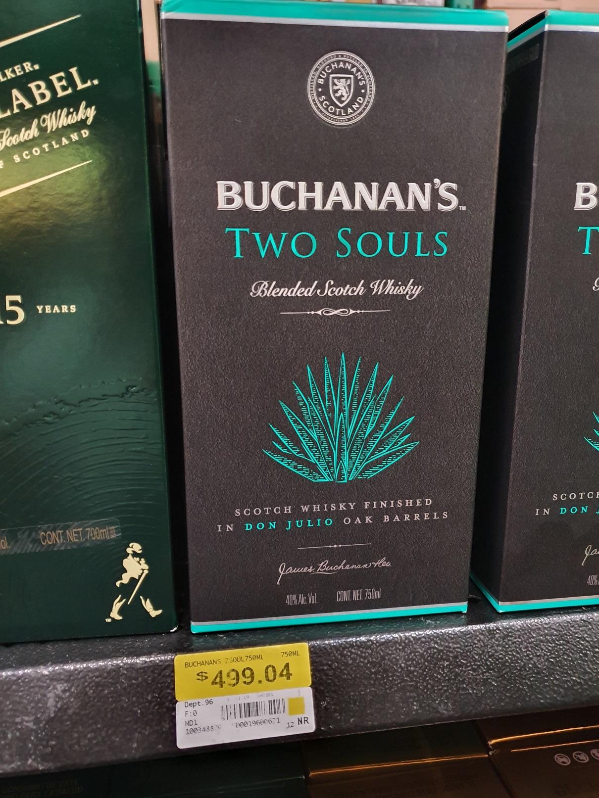 Walmart - Buchanan´s Two Souls 750 ml