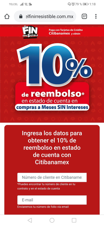 Banamex El Fin Irresistible 2019 en Walmart: Registro 10% Bonificacion Citibanamex en el Fin Irresistible Sams, Walmart, Superama y Ahorrera