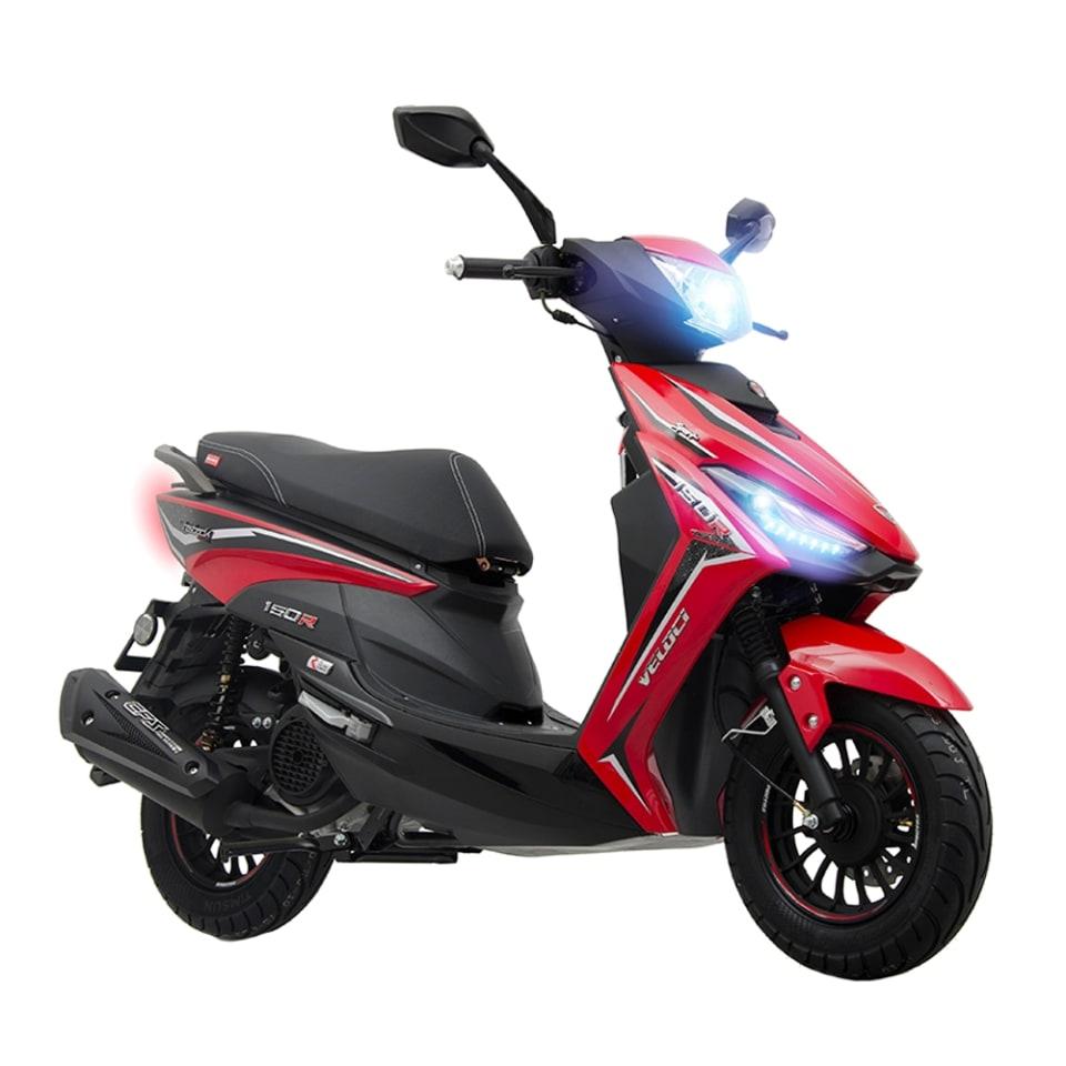 Walmart: Motoneta Veloci Hasback Sport 150cc Roja 2020