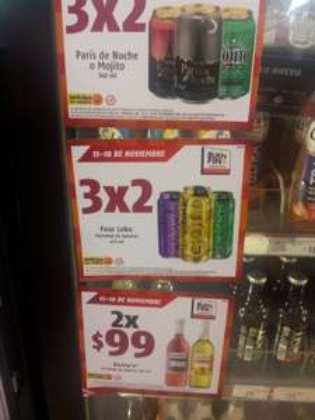 Oxxo: Boones 2X$99