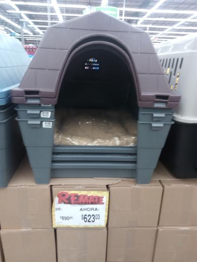 Bodega Aurrerá: casa para perro a $623