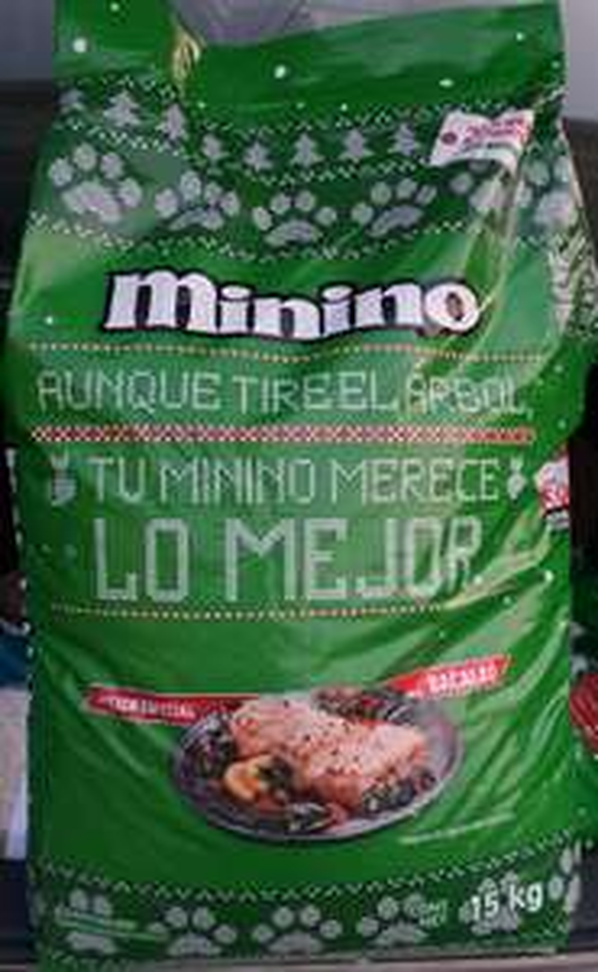Zorro: Alimento para Gato Minino Navideño sabor Bacalao 15kg