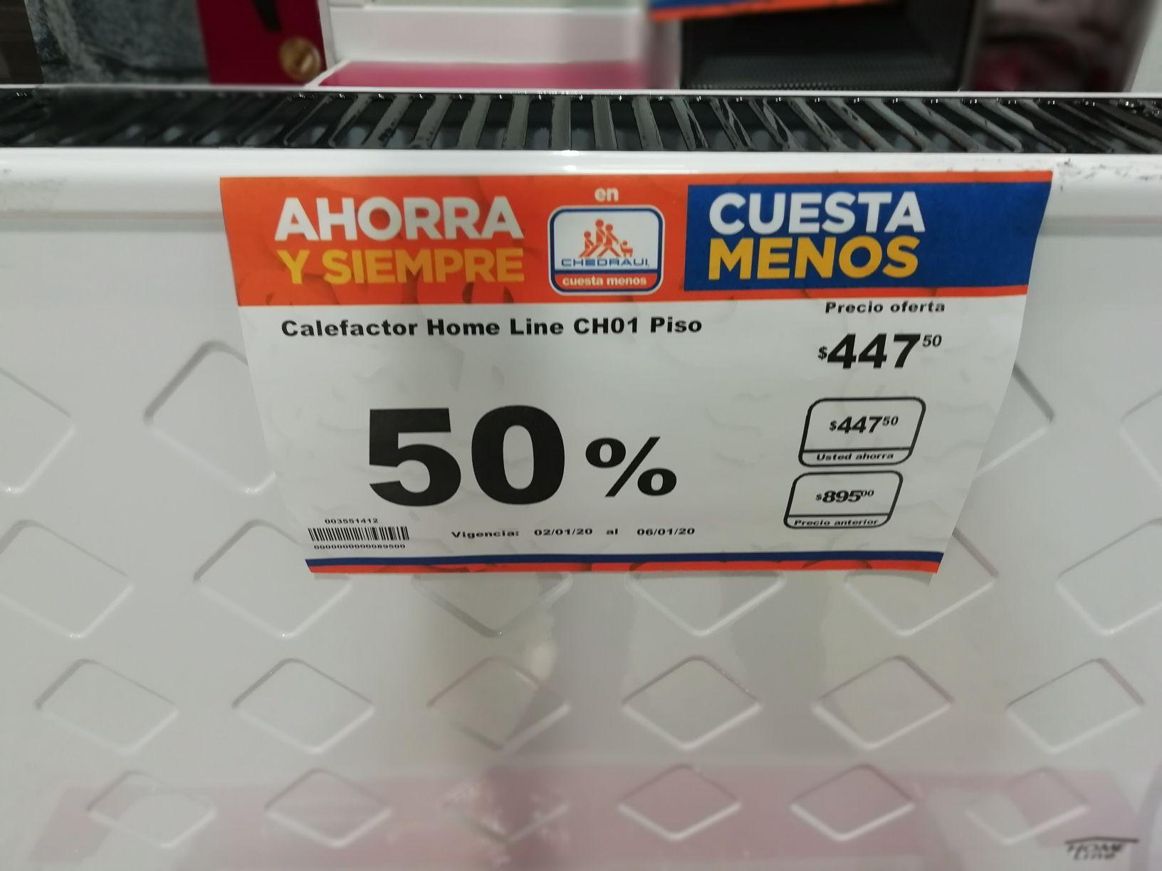 Chedraui plaza cristal Puebla: Calefactores 50%, pants y más