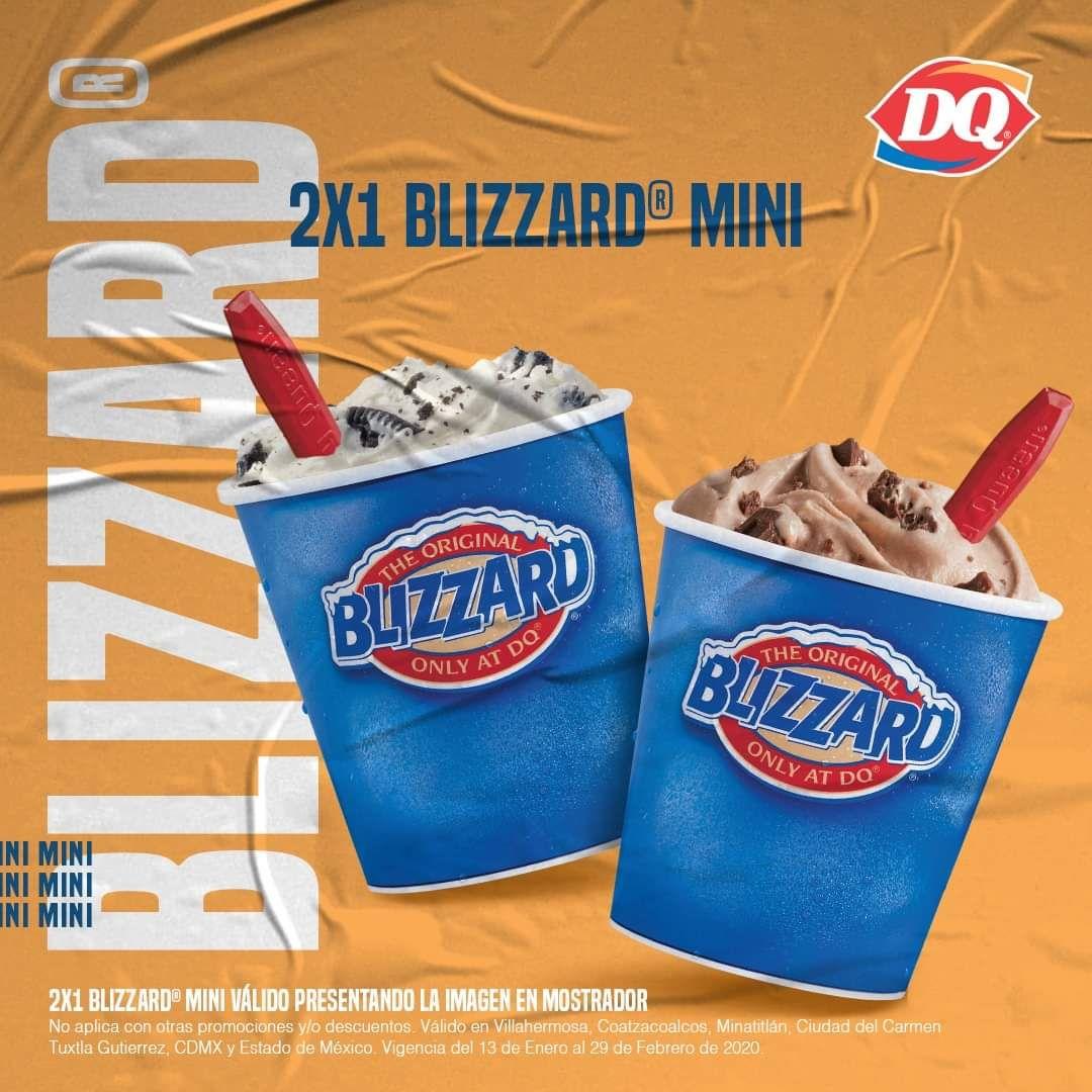 Dairy Queen Blizzard mini 2x1