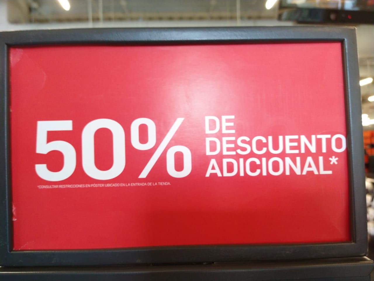 Nike Factory (Aeropuerto) - 50% de descuento en toda la tienda comprando en par