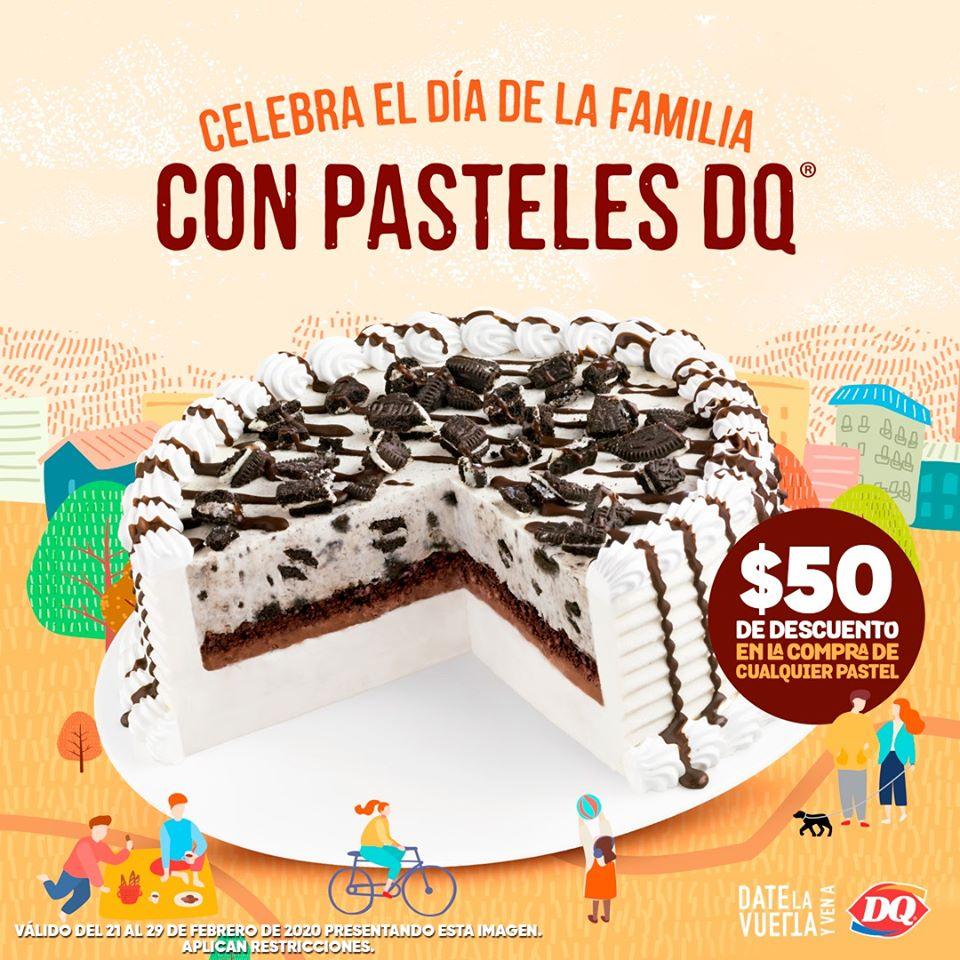 Dairy Queen: $50 de descuento en la compra de cualquier pastel