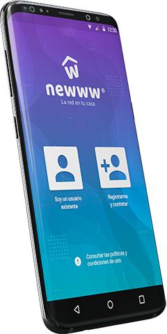 Newww: Red Telcel 4.5G Internet con Datos ilimitados + 1500 minutos llamadas en HD