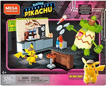 Amazon Mega Construx Pokémon Juguete Detective Pikachu Playset Grande