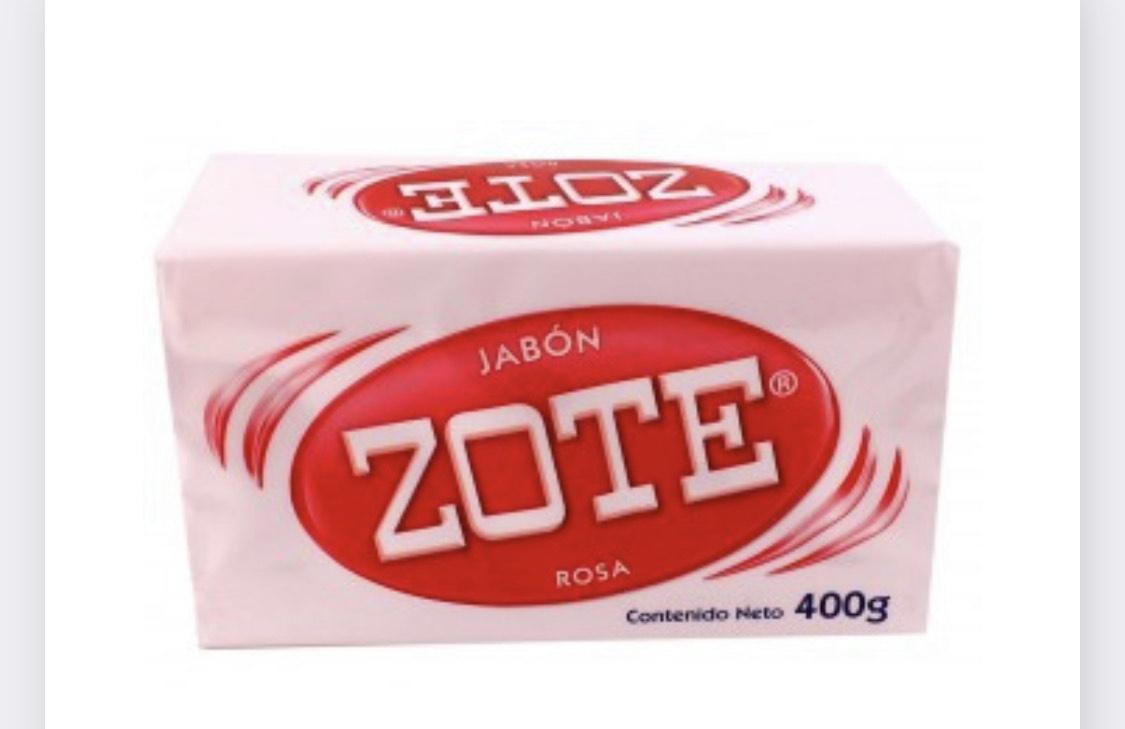 Chedraui en línea: Jabón ZOTE 400gr. Rosa, azul y blanco.