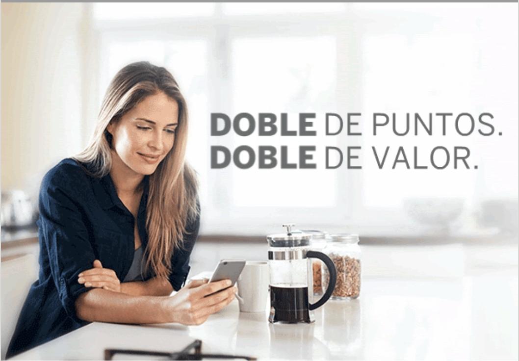 American Express: Dobles puntos