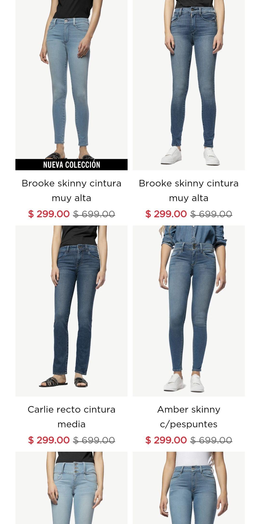 SEXY JEANS: Pantalones desde $299 + cupón de descuento