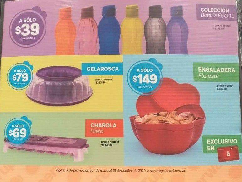 Soriana: Nuevo Programa de Lealtad Colección Tupperware