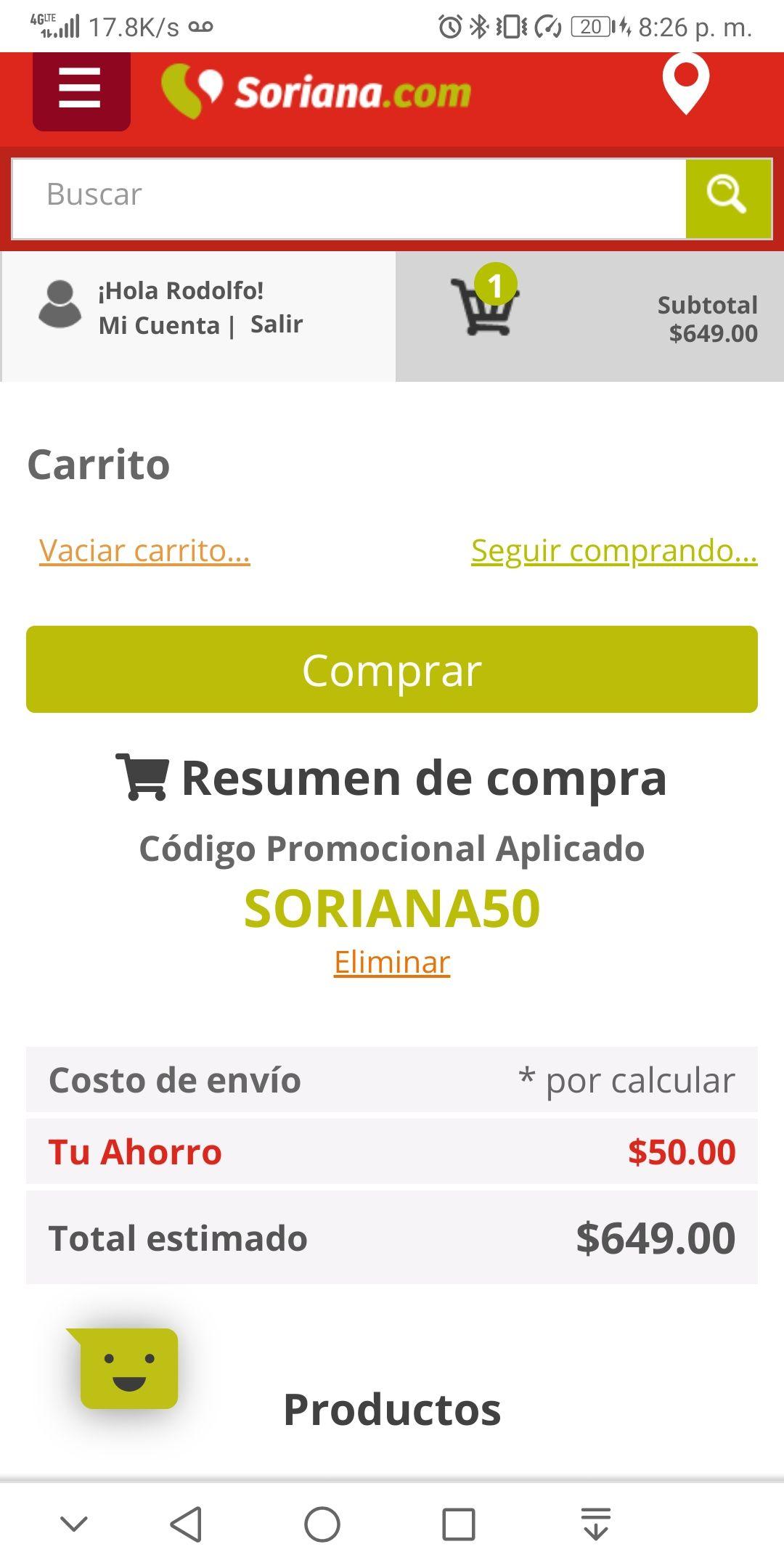 Soriana: Chromecast.. Barato