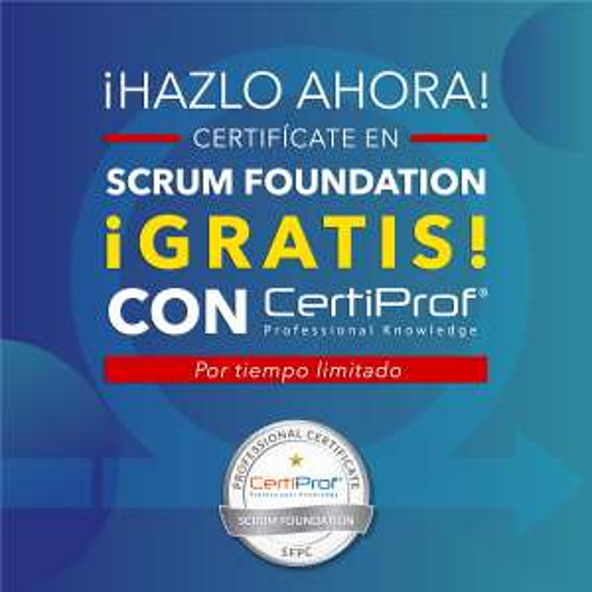 CertiProf: Certificación en SCRUM (SFPC) en español