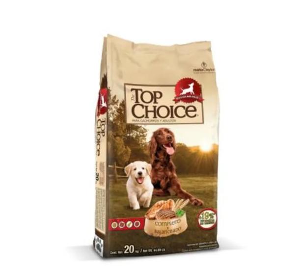 Bodega Aurrerá: Alimento para perro Top Choice 20 kg