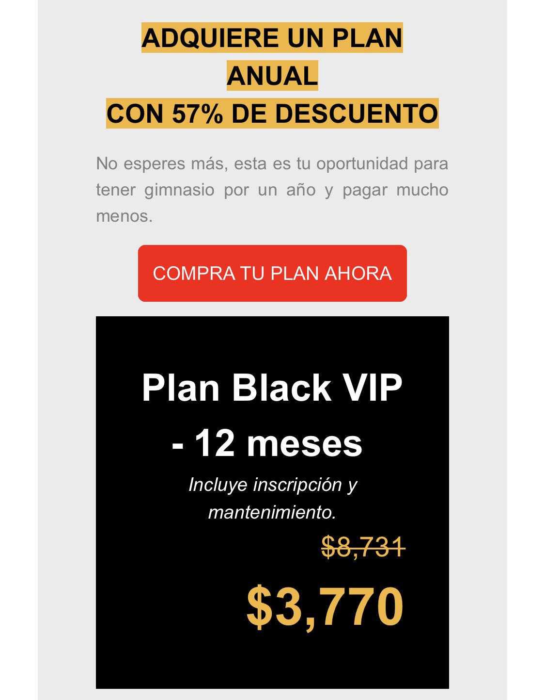 SmartFit: Plan Black Smart Fit por 12 meses.