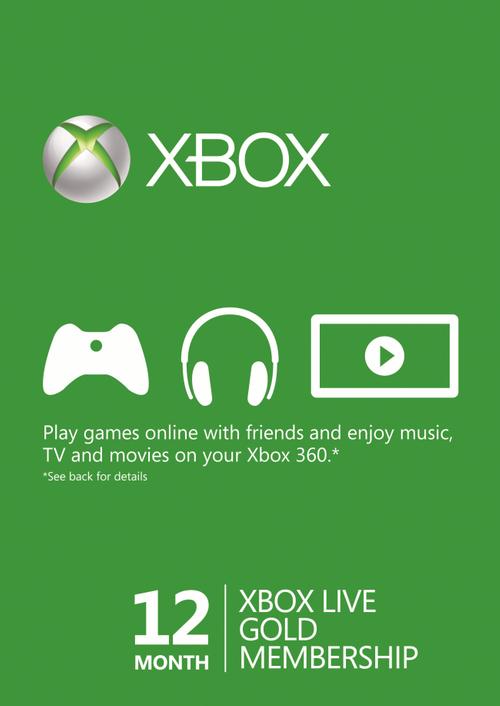CDKeys: 12 meses de Xbox Live Gold