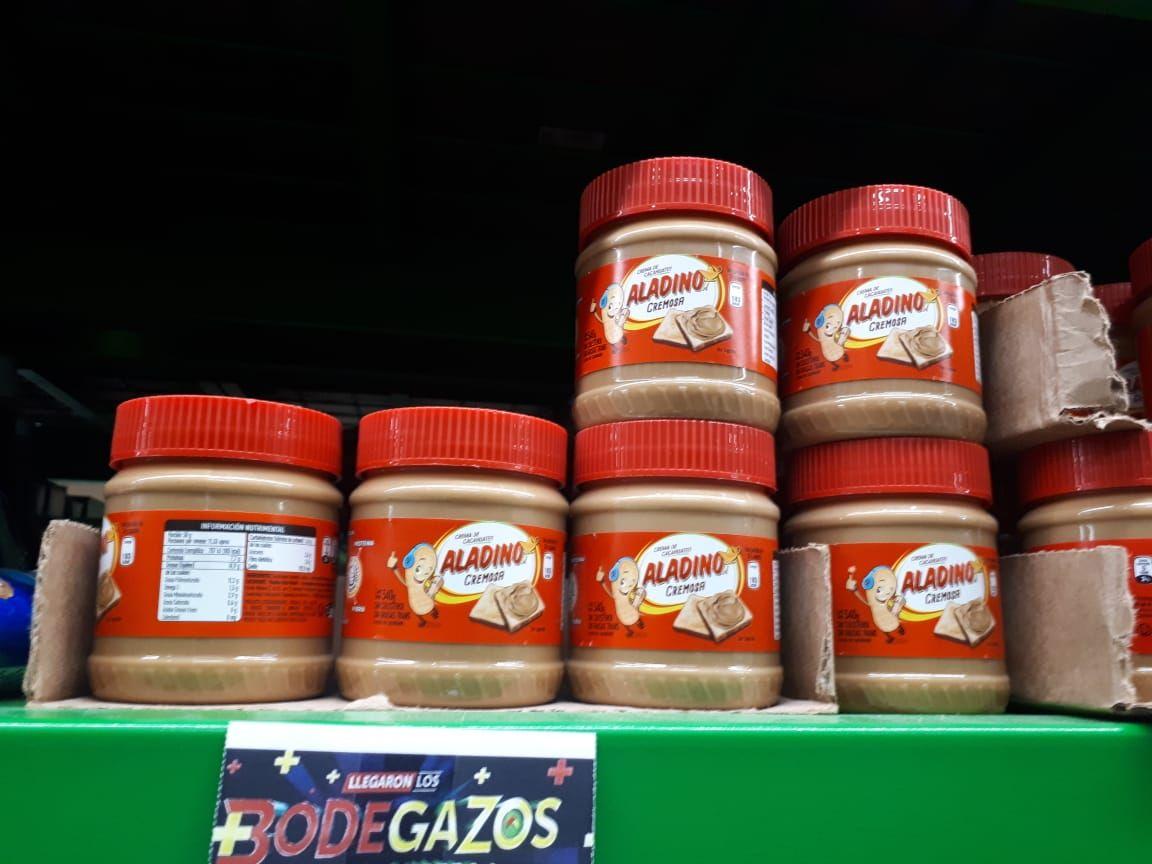 Bodega Aurrerá: Crema Cacahuate Aladino 340g y más