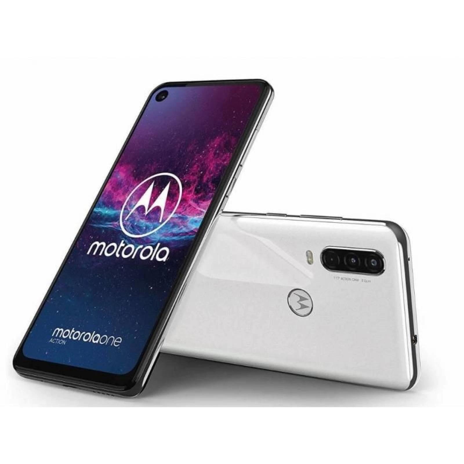 Bodega Aurrerá: : Motorola One Action 128 GB Gris Desbloqueado