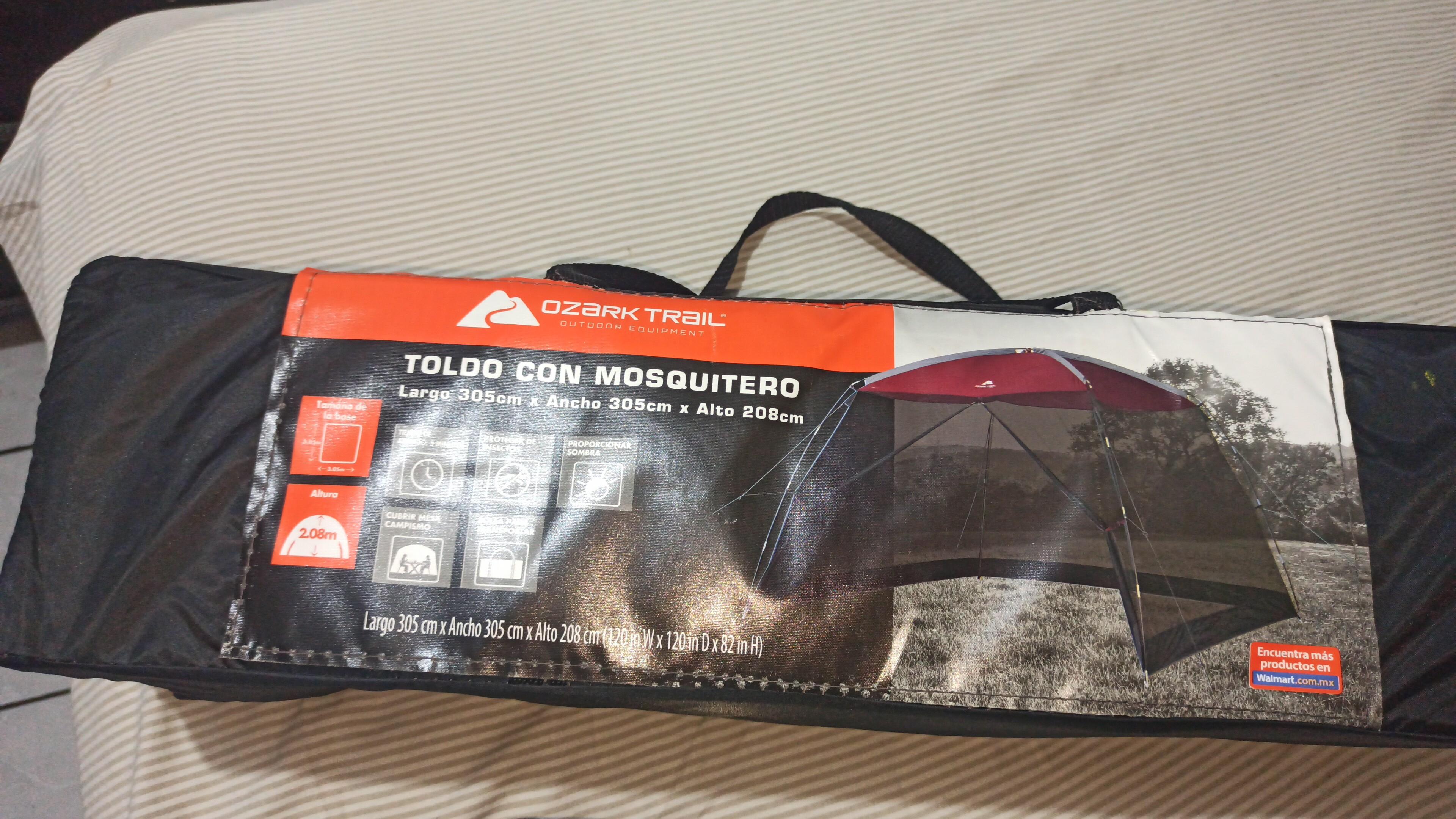 Walmart: Toldo mosquitero ozark