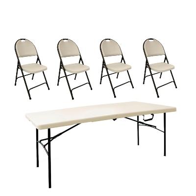 Home Depot: Combo Mesa y sillas para la carnita asada