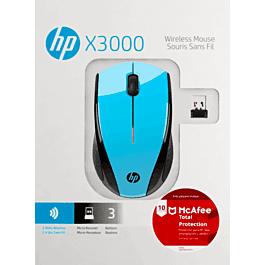 HP: Mouse HP X300 con Antivirus