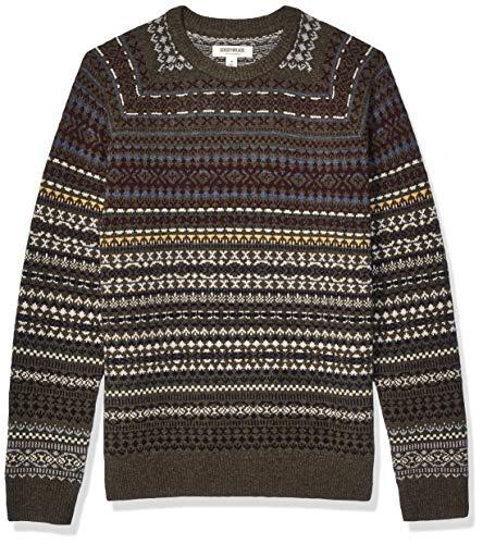 Amazon; Ugly sweater para fin de año? Aquí una opción de Goodthreads 100% lana talla 2X gde.
