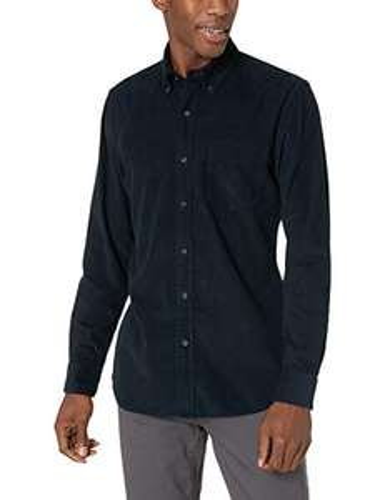 Amazon: Camisa azul marino talla Ch Pana por Goodthreads
