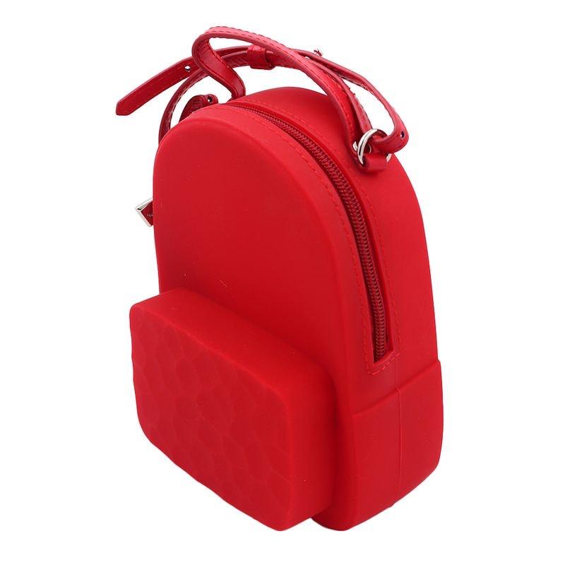 Miniso: mochila de silicon rojo al 50%
