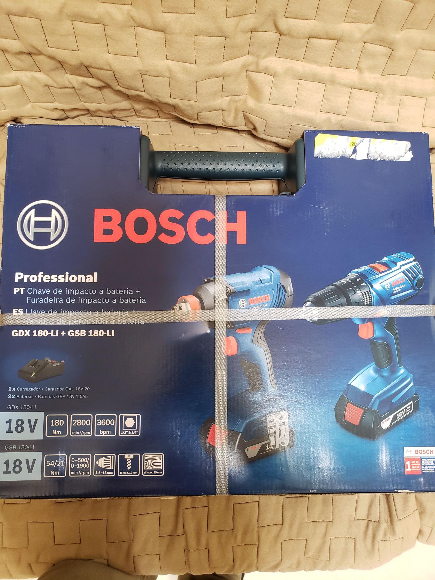 """Home Depot: Combo Bosch Impact o 1/2"""" inalámbrico y taladro rotomartillo inalámbrico"""