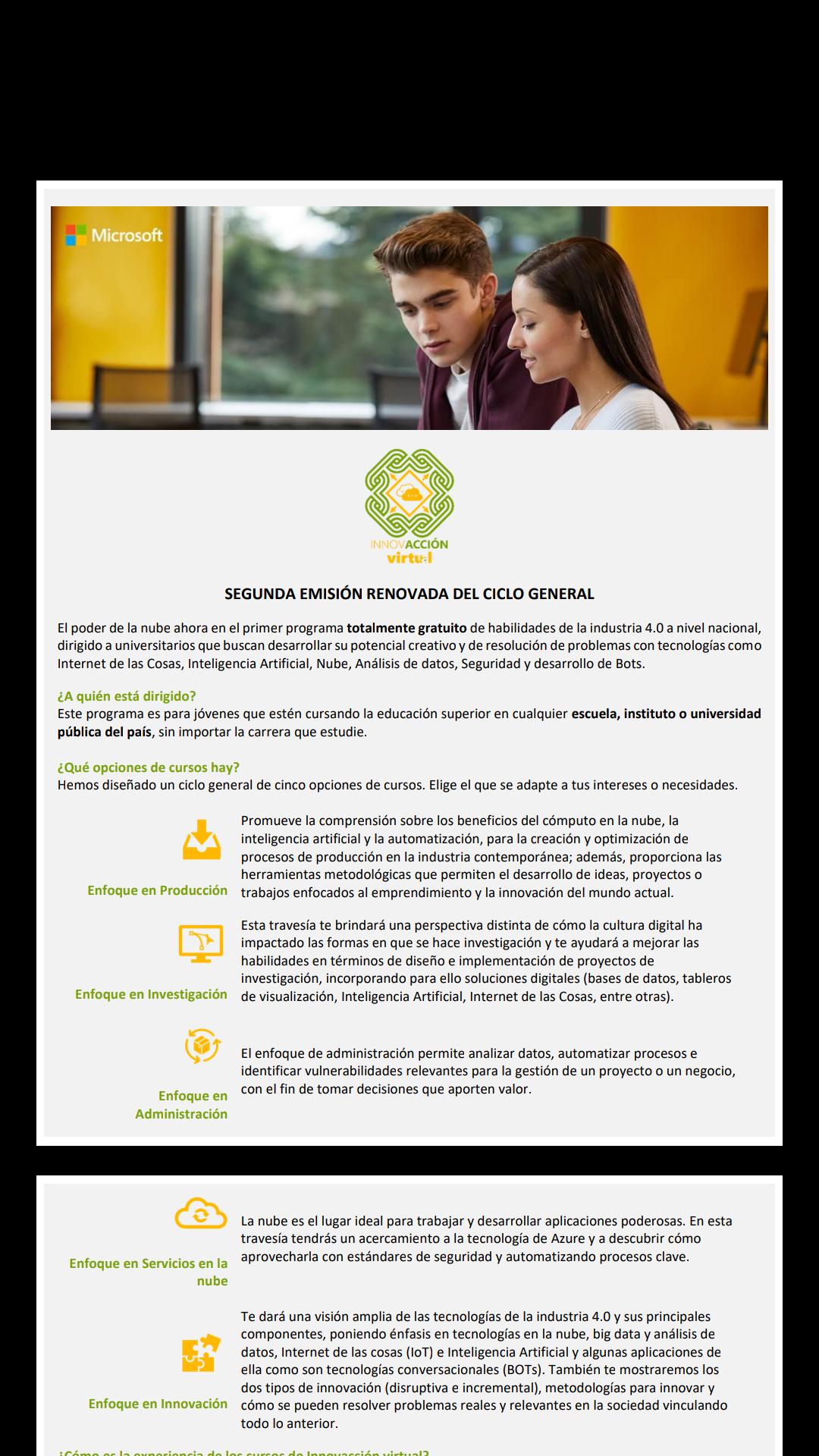 Innovacion Virtual: Certificaciones de la industria con tecnologías Microsoft reconocidas por SEP-Conocer-Microsoft