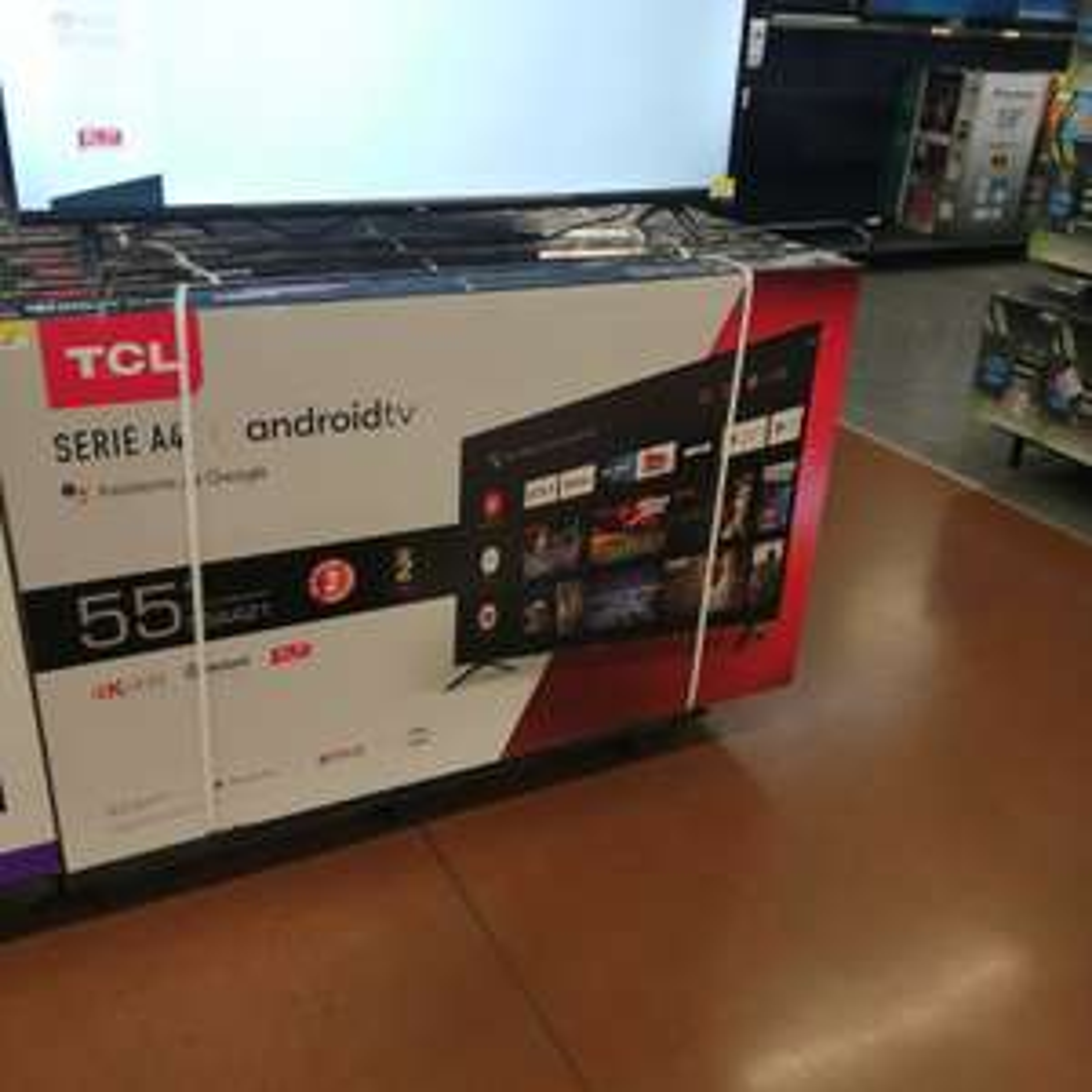 Walmart: Pantalla tcl 55 4k Android modelo nuevo