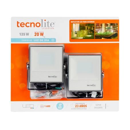 Sam´s Club- 2 piezas Reflector Exterior Tecnolite LED 20W