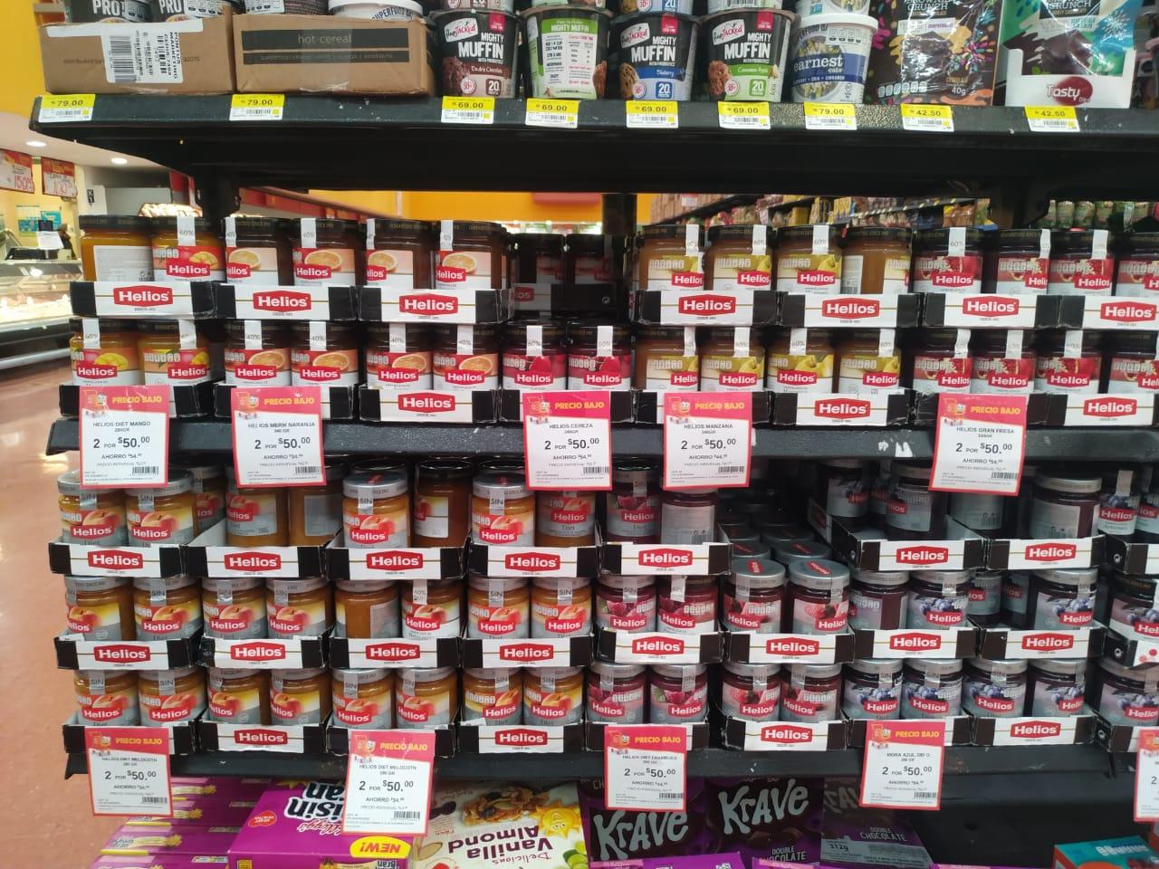 Walmart : 2x50 Variedad Mermeladas Helios