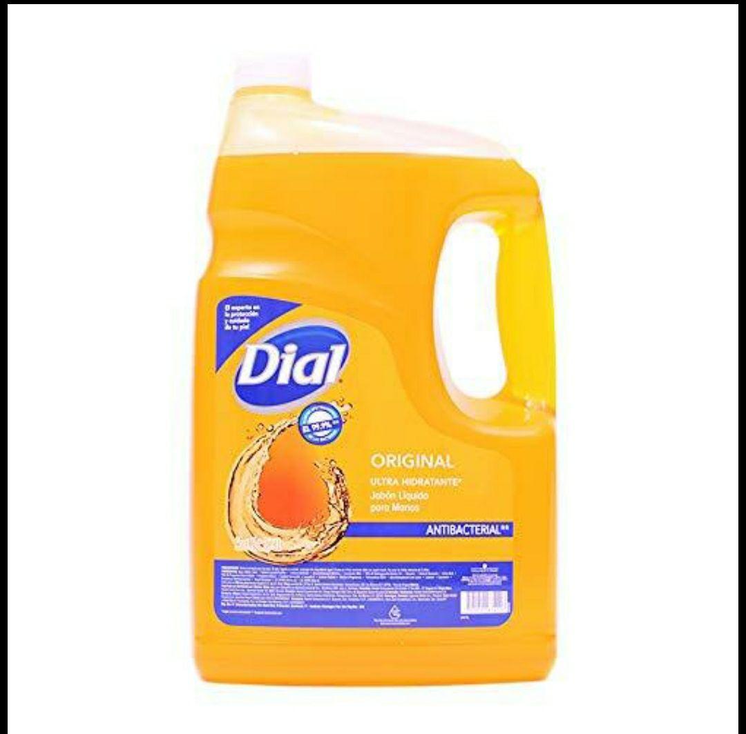 Sam's Club: Jabón líquido para manos antibacterial DIAL de 3.78L