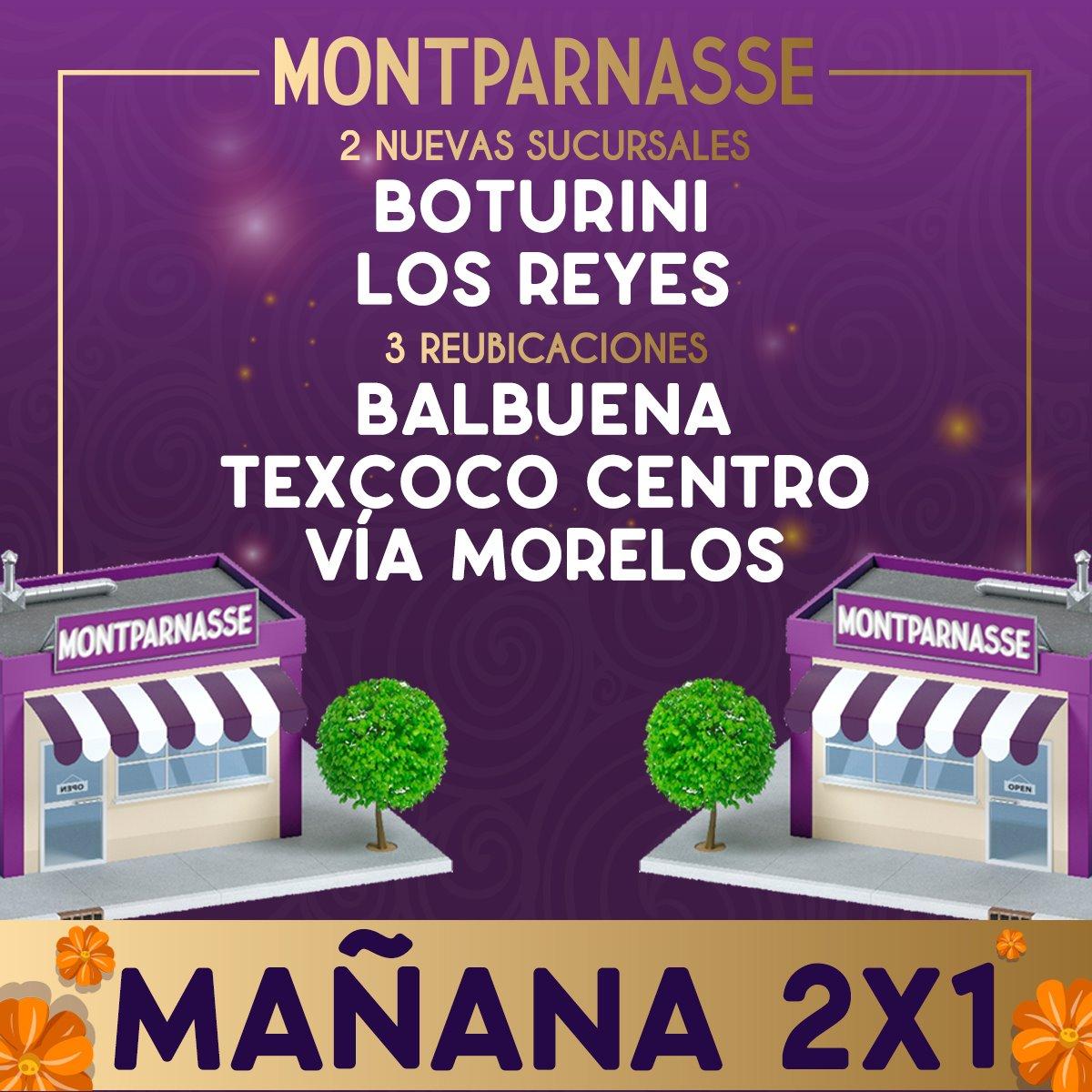 Montparnasse Pastelería: Hoy 2x1 En Nuevas Sucursales