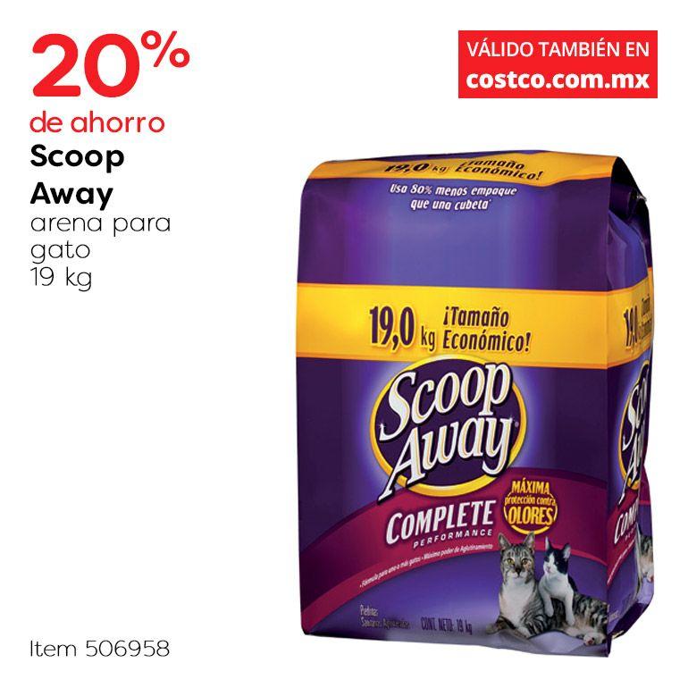 Costco: Arena para gato Scoop Away 19kg