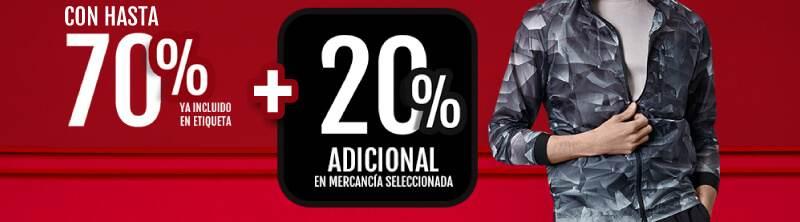 Promoda 20% adicional en mercancía seleccionada y hasta 13 meses sin intereses con tarjeta bradescard promoda