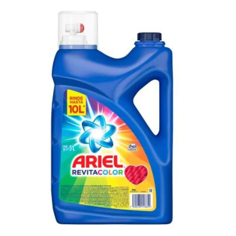 Walmart:Detergente líquido Ariel revitacolor 5 l (2x$195)($97.5 la pieza)