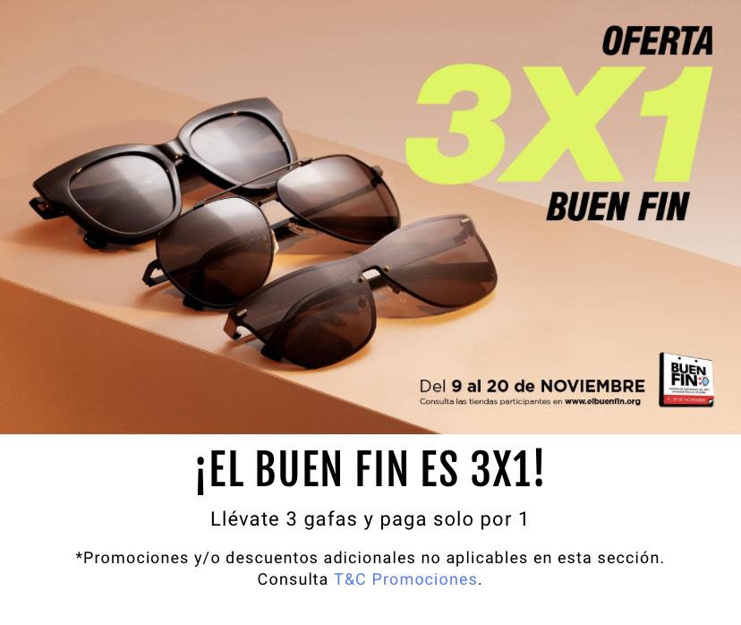 Hawkers: 3x1 en gafas de sol