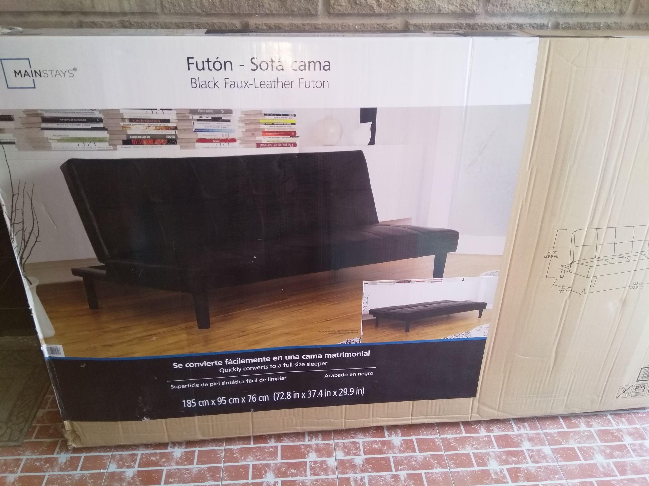 Bodega Aurrera: Sofa Cama Futon Mainstays