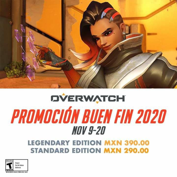 Battle.net Buen Fin: Overwatch para PC