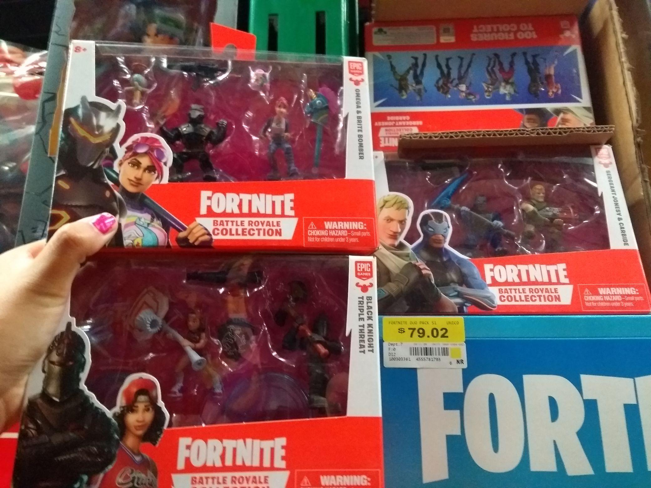 Walmart: Muñecos Fortnite segunda liquidación