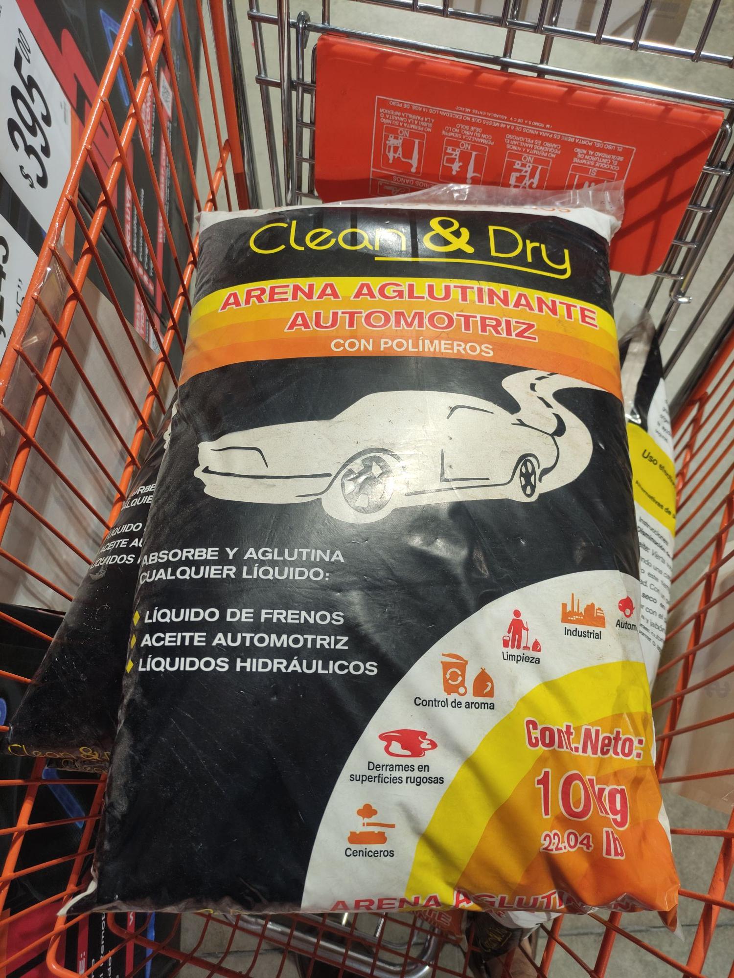 Chedraui: Arena Automotriz Clean & Dry Absorbente